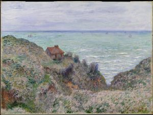 Claude Monet - Cabin of the Customs Watch