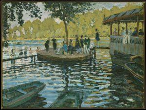 Claude Monet - La Grenouillère